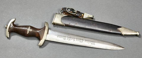 German WWII SS Dagger with Early RZM Blade