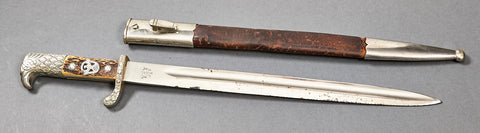 German WWII Rural Police Bayonet by Alcoso