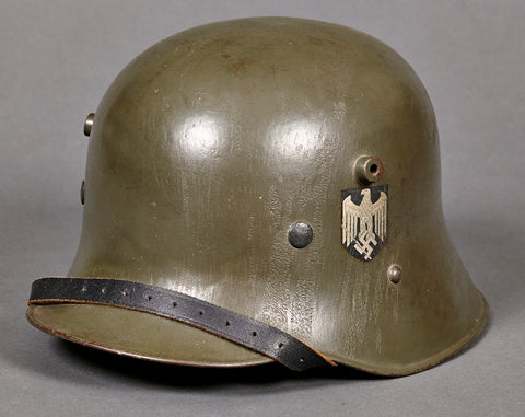 Model 1916 Reissue Third Reich Army Double Decal Helmet
