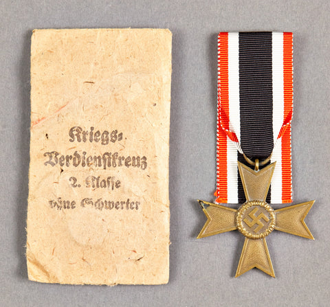 War Merit Cross 2nd Class with Issue Packet