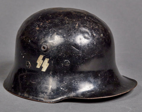 "Well Documented German WWII ""Himmler"" Style Lightweight Helmet"