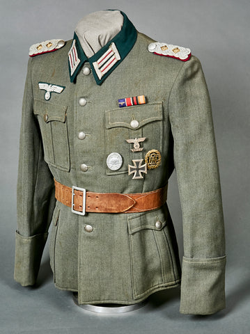 WWII German Army Smoke Troop Service Uniform for Colonel