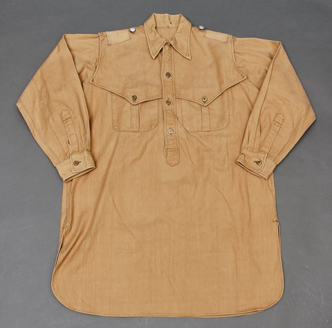 WWII German SS Private Purchase Sahariana Tropical Blouse