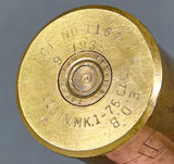 WWII era 75 Cal Shell with Amazing Hand Engraving