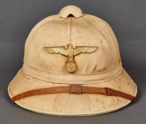 WWII German Kriegsmarine Tropical Pith Helmet