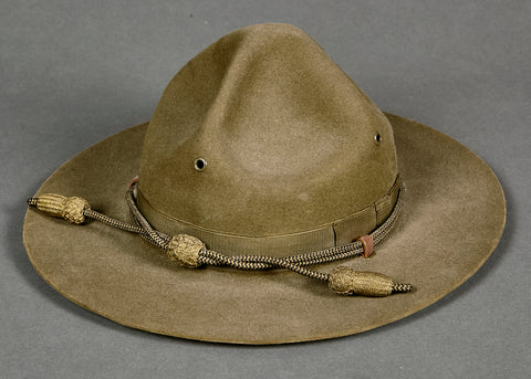 "US WWII Drill Instructor ""Smokey"" Campaign Hat"
