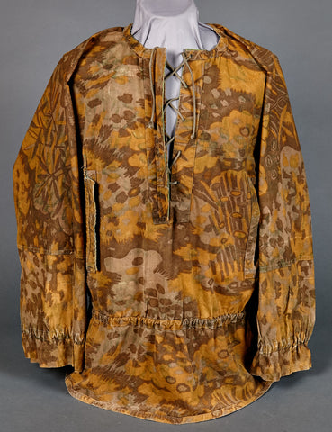 SS Model 1938 Smock in Palm Tree Camouflage Pattern-ULTRA RARE