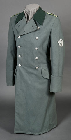 WWII German Municipal Police NCO Great Coat