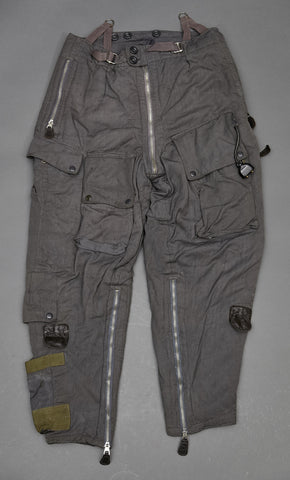 WWII German Luftwaffe Cold Weather, Heated Flight Trousers