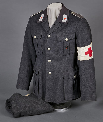 WWII German Red Cross Tunic and Breeches