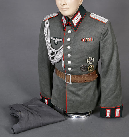WWII German Army Artillery Officer Waffenrock with Breeches