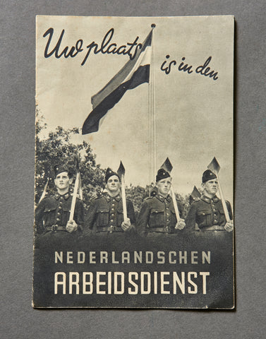 Dutch WWII Labor Organization Booklet