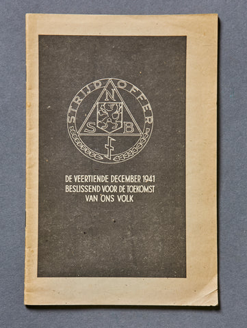 Dutch WWII NSB Booklet
