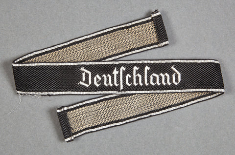 "WWII German SS ""Deutschland"" Cufftitle"