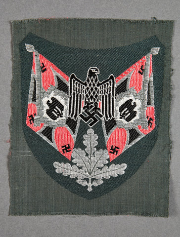 WWII German Army Panzer Standard Bearer Sleeve Patch
