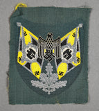 WWII German Army Signals Standard Bearer Sleeve Patch