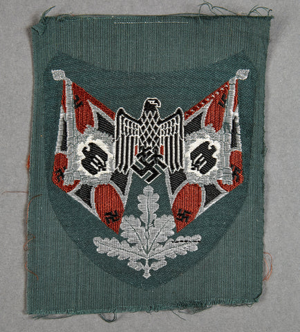 WWII German Army Motorized Recon Standard Bearer Sleeve Patch