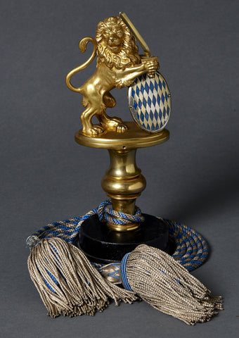 Imperial Bavarian Veteran's Flag Pole Top