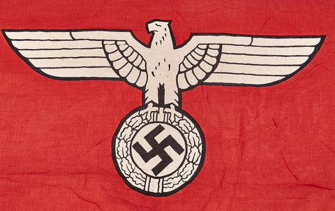 Third Reich State Service Flag, HUGE
