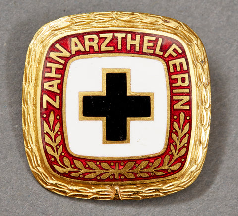 German WWII Vintage Dentist Helper's Badge
