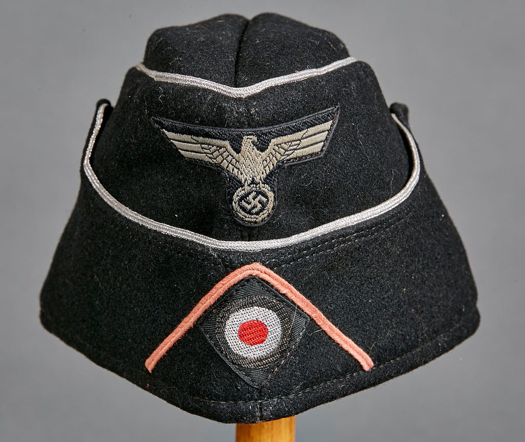 9979982b52d WWII German Army Panzer Officer Side Cap – The Ruptured Duck