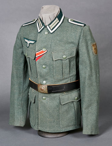 WWII German Model 1940 Army Infantry NCO Combat Tunic