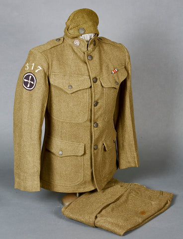 WWI US Air Service Enlisted Man's Uniform Grouping