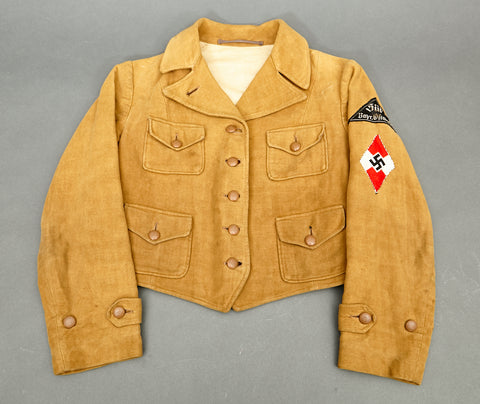 Scarcely Encountered German BDM Service Jacket