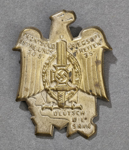 Third Reich Veterans Tinnie from 1935