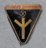 WWII German Deutsches Frauenwerke Membership Pin