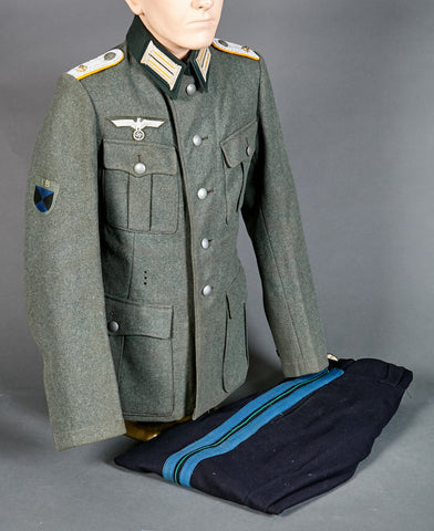 Army Model 1940 Service Tunic and Pants for Officer (Cavalry) Terek Cossack Volunteer