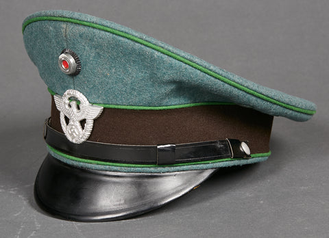 German WWII Municipal Police Other Ranks Visor Cap