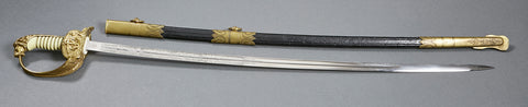 German Third Reich Naval Officer's Sword by WKC