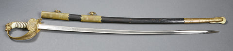 German WWI Navy Officer's Sword by E & F Horster