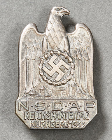Nürnberg 1933 Party Badge