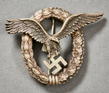 WWII German Luftwaffe Pilot Badge by Juncker