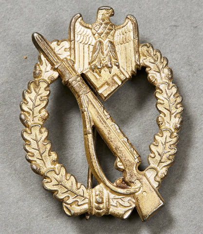 WWII German Infantry Assault Badge in Silver by FLL