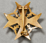 WWII German Luftwaffe Spanish Cross in Bronze w/o Swords
