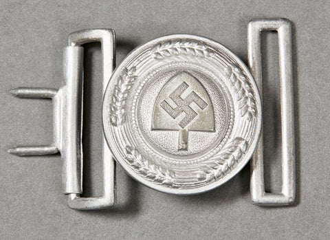 German NAZI RAD Officer's Buckle
