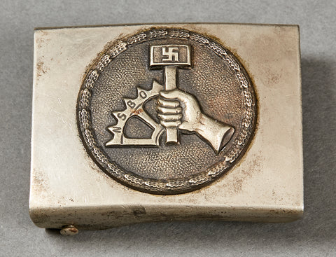 German NAZI NSBO Enlisted Man's Buckle