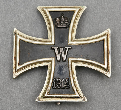 WWI Iron Cross First Class, Maker Marked and Named