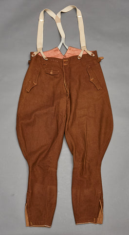 WWII German era Private Purchase Political/SA Breeches w/Suspenders