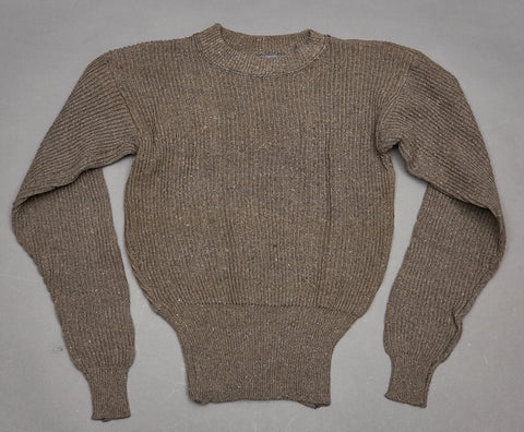 WWII German Army Ribbed Wool Sweater