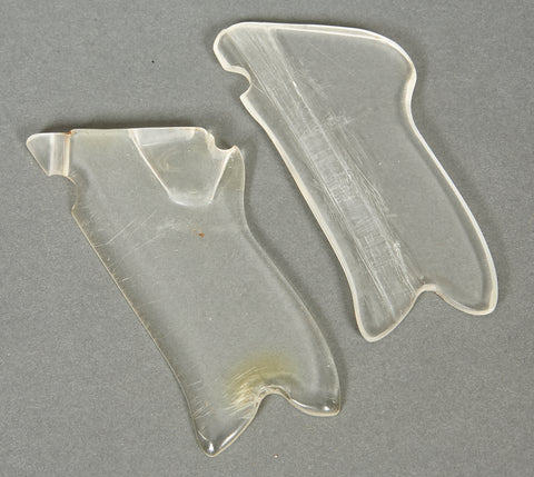 Plexiglass Grips for WWII German Luger