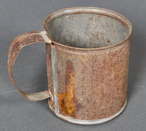 German WWII Tin Drinking Cup