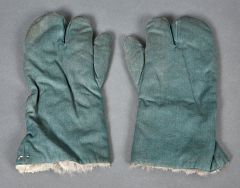 WWII German Police Mittens