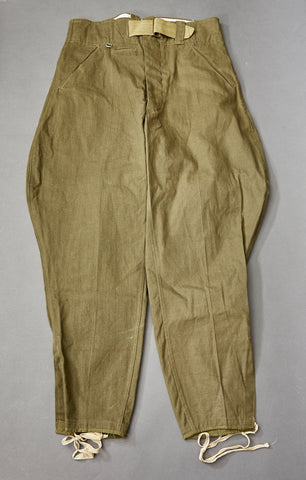 WWII German Army Tropical Service Breeches