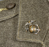 WWII USMC Tunic and Trousers
