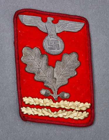 WWII German NAZI Political Leader Collar Tab