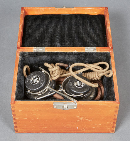 Cased WWII Japanese Headset